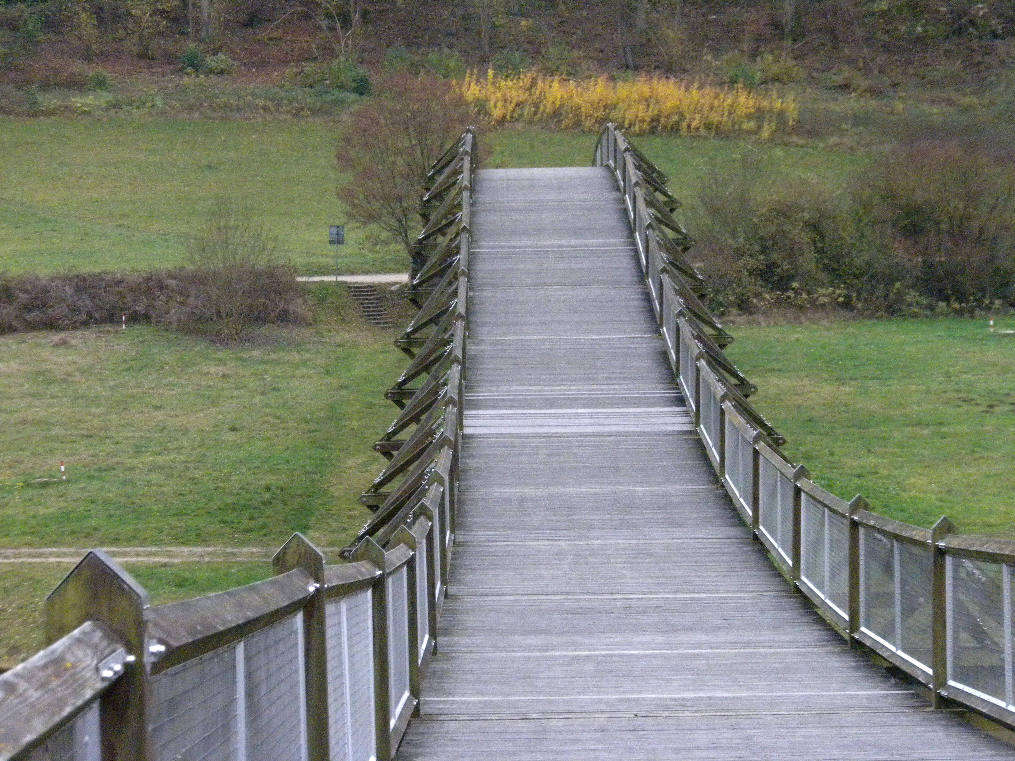 Essing Holzspannbrücke
