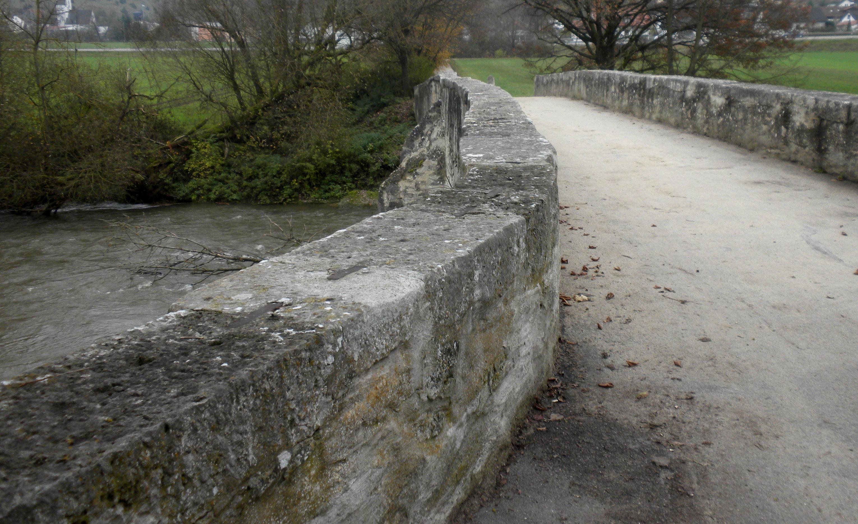 Mittelalterbrücke Pfünz