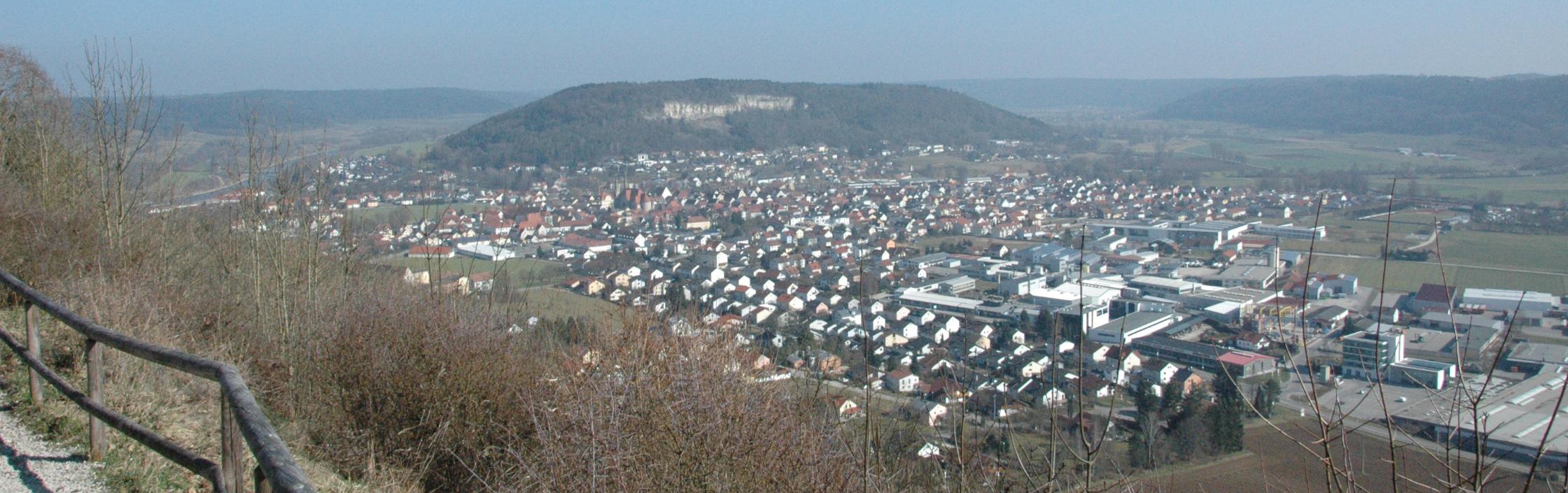 Ausblick Hirschberg auf Beilngries