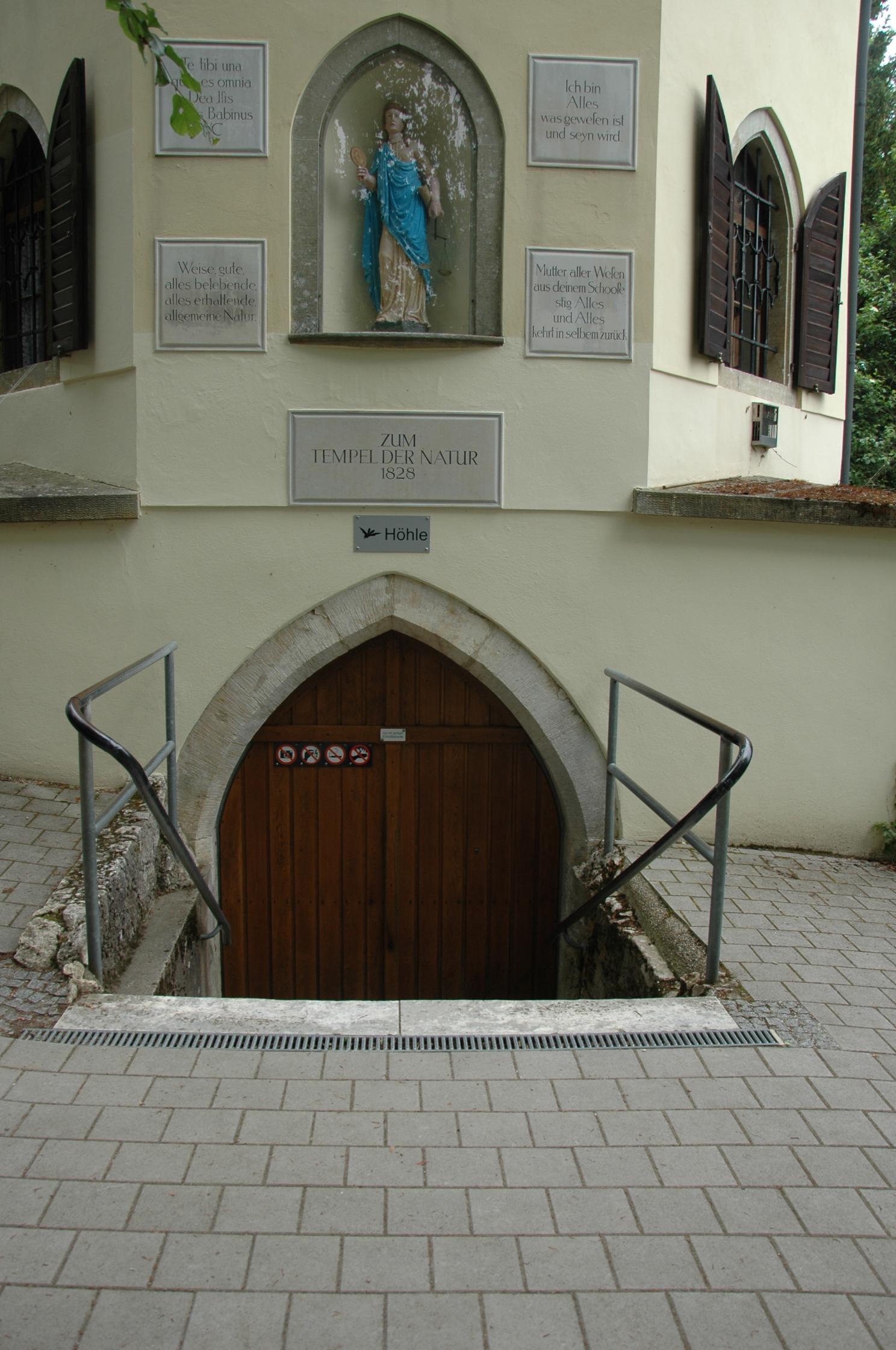 Eingang Schulerloch Kelheim