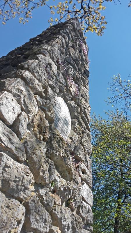 Wodansburg Pfeiler bei Beilngries