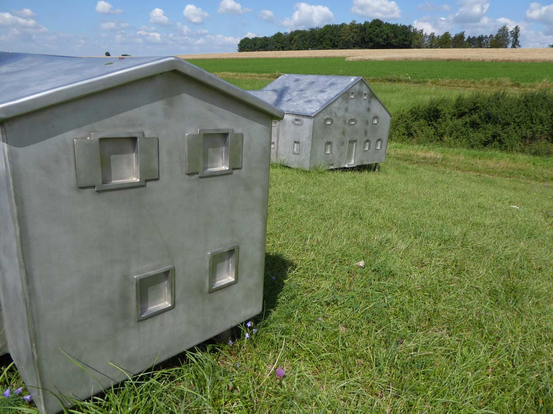 Das verlorene Dorf Kunstwerk bei Nennslingen