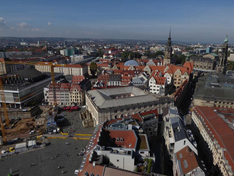 Dresden Ausblick Frauenkirche