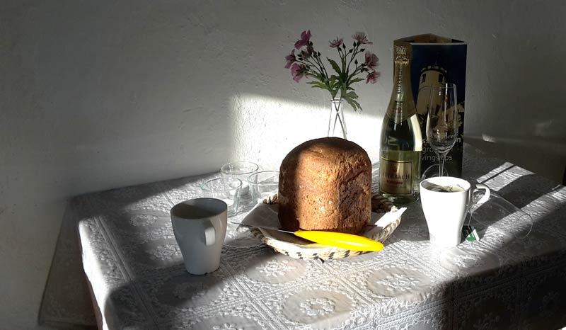 Schloss Möhren Frühstück