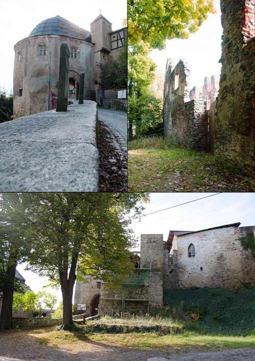 Thierfeld Schlossruine Hartenstein
