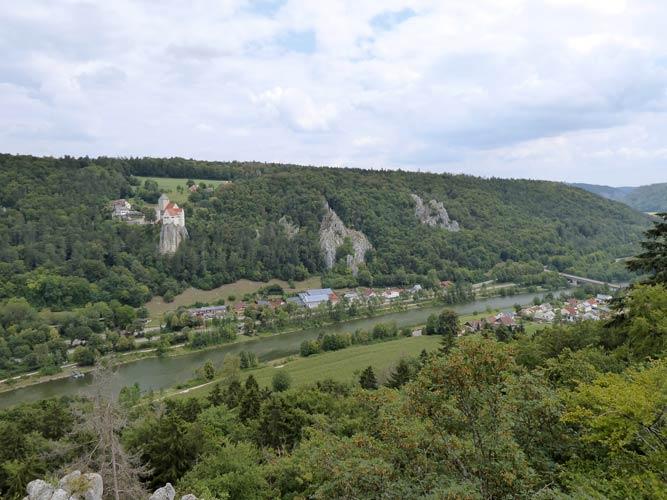 Wanderweg Riedenburg Burg Prunn