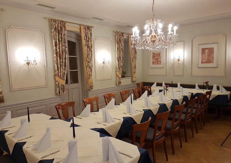 Hotel Adlerbräu Gunzenhausen Markgrafenstube
