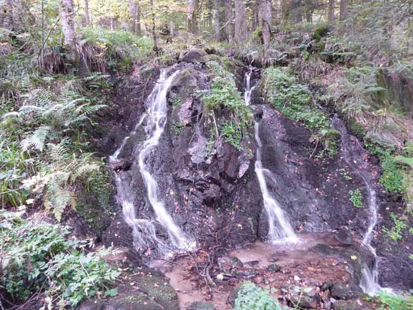 Cascade de la Serva Elsass Wasserfall