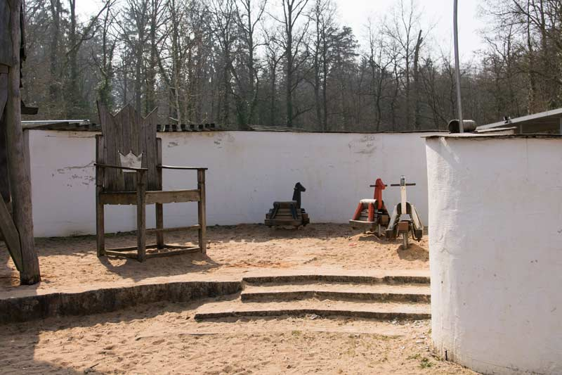 Zauberschloss Radibor Spielplatz Roth