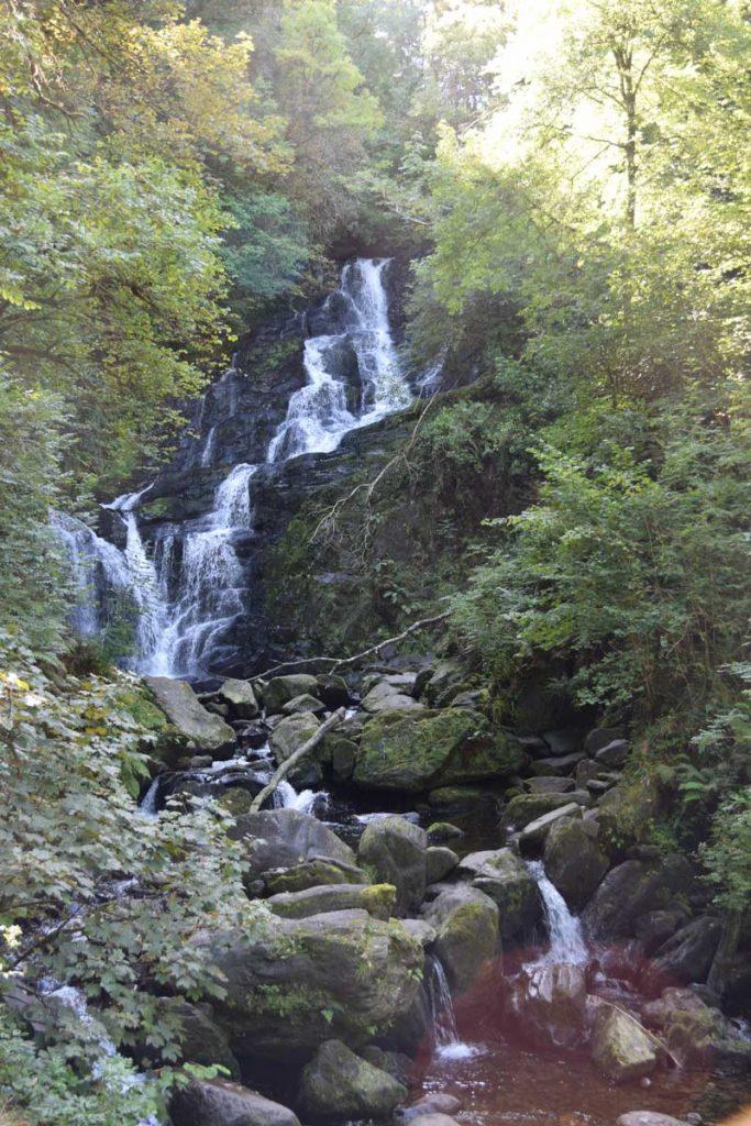Killarney Nationalpark Torc Wasserfall