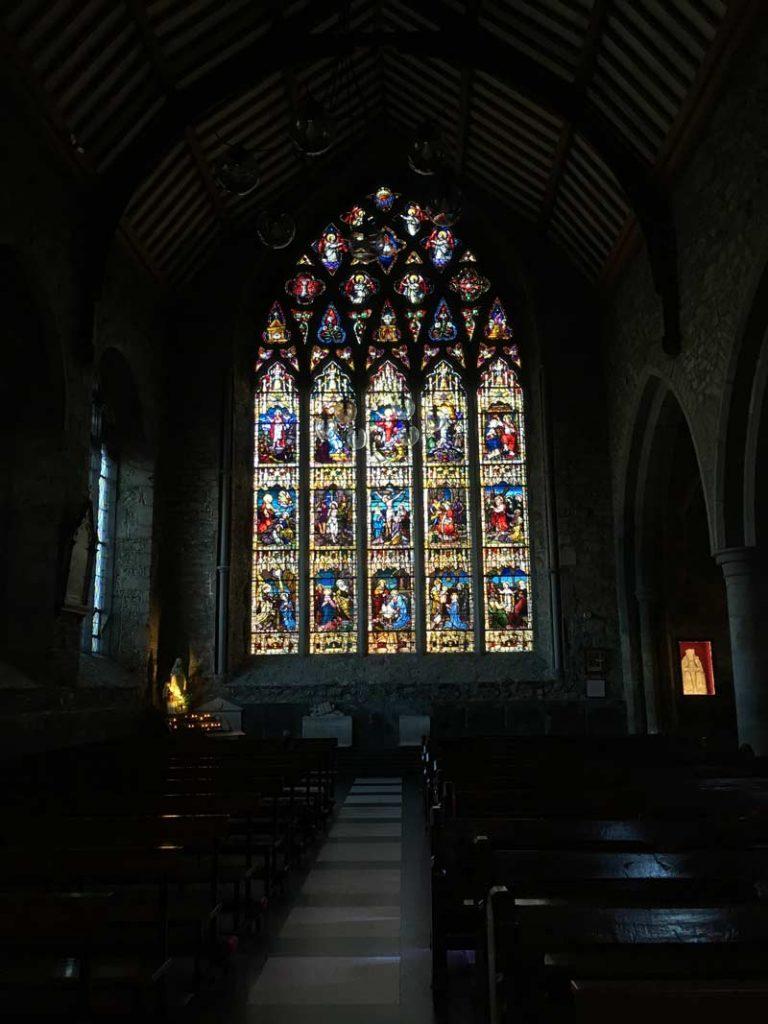 Rosary Window Black Abbey Kilkenny