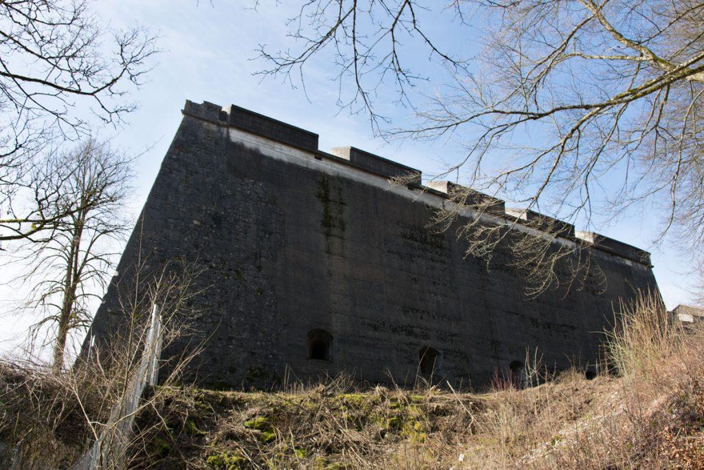 Festung Rothenberg Außenansicht