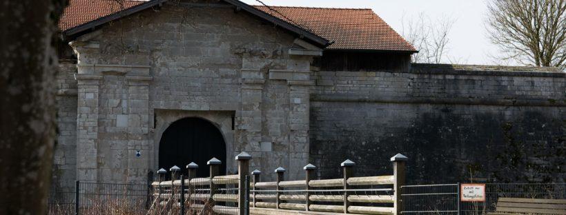 Festung Rothenberg Eingang