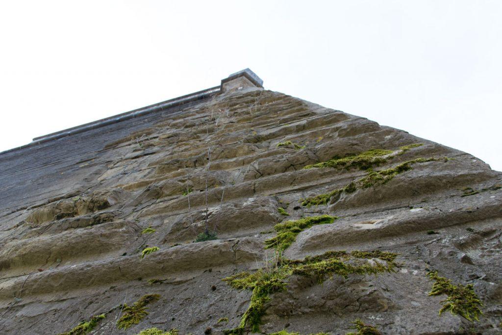 Festung Rothenberg Mauer