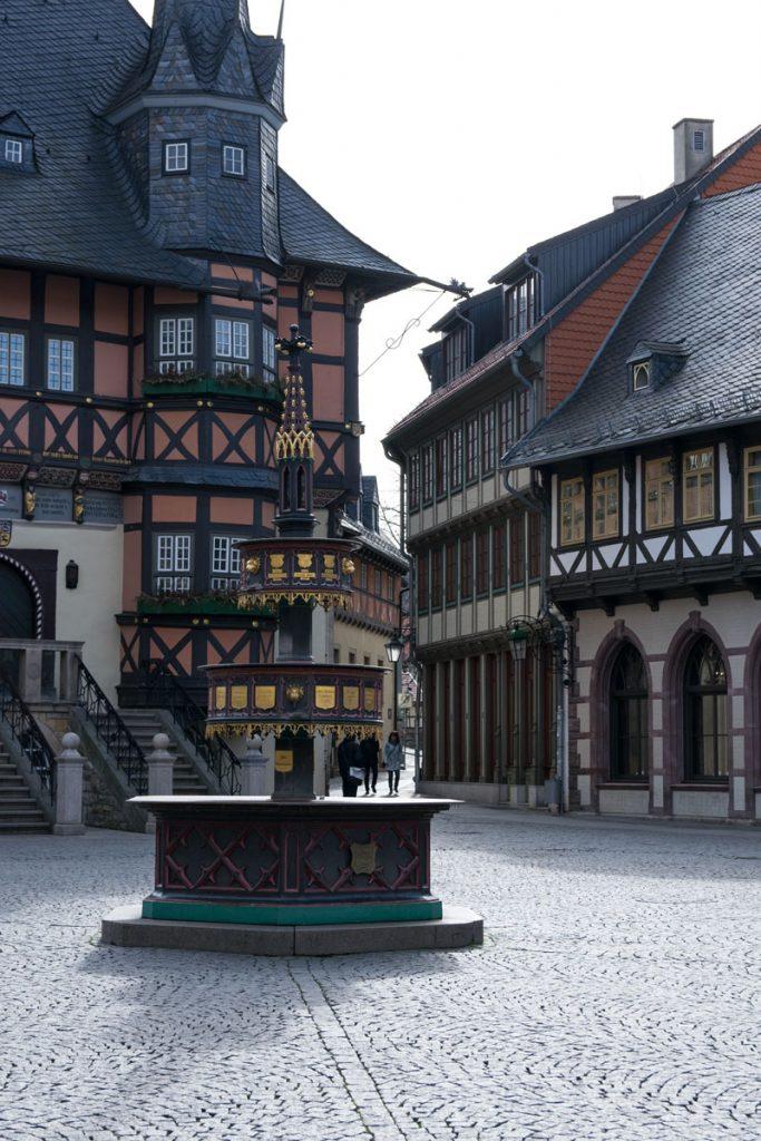 Wernigerode Brunnen am Rathaus