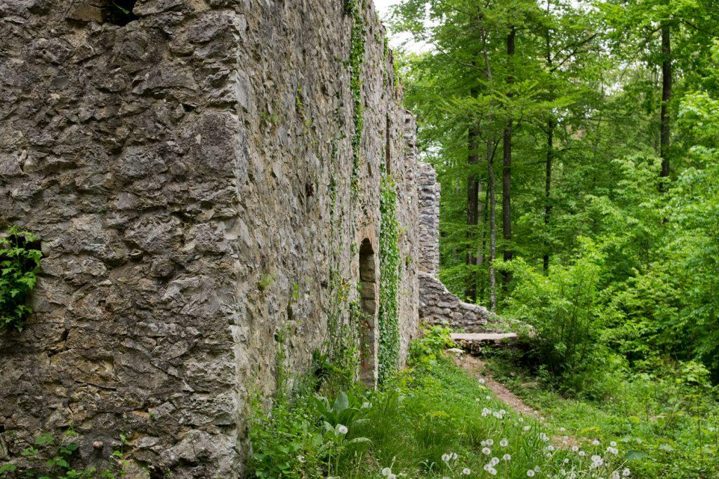Uhlberg Kapelle Ruine St. Ulrichs-Kapelle
