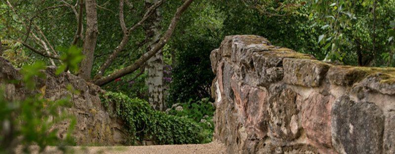 Steinbrücke Schlosspark Dennenlohe