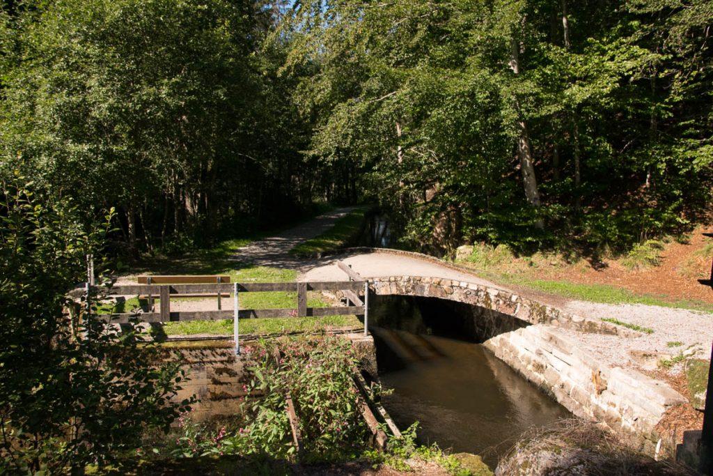 Saußbachklamm Waldkirchen Wanderweg