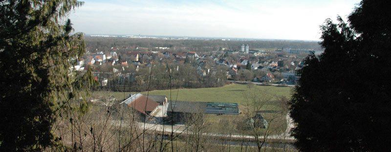 Freising Ausblick Schlüterhallen