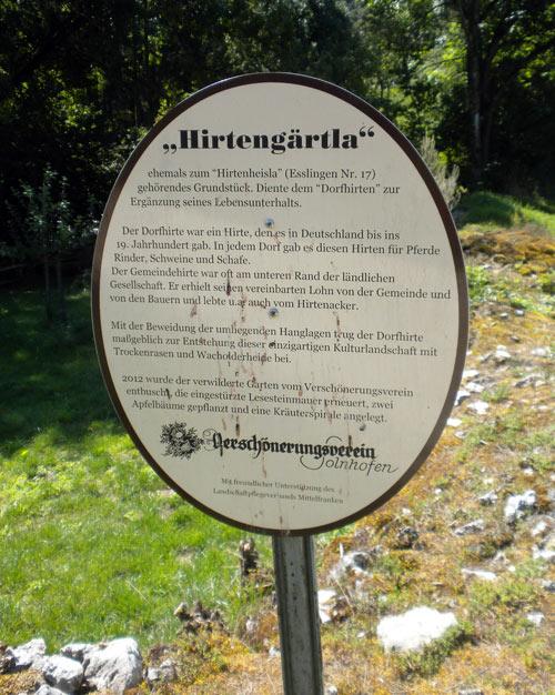 Hirtengärtla Kräutergarten Esslingen