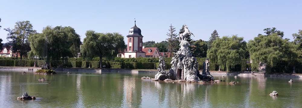 Rokokogarten Veitshöchheim Brunnen