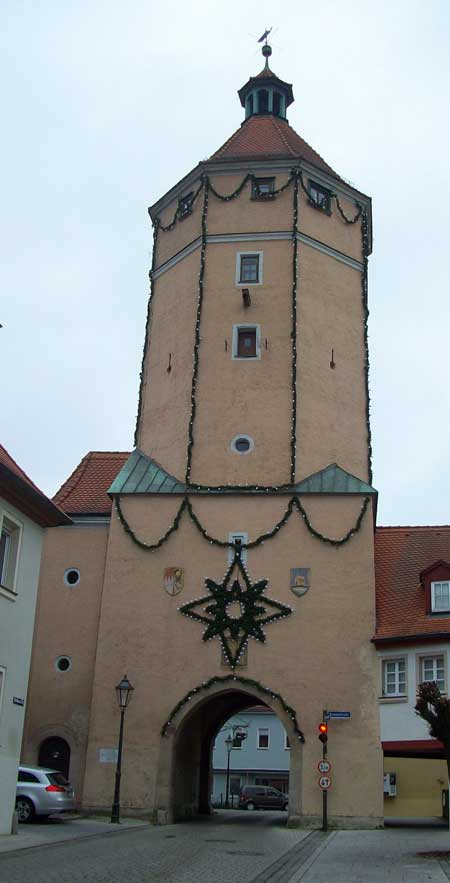 Blasturm Gunzenhausen im Altmühltal