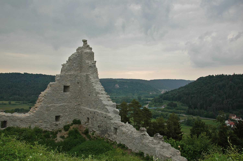 Ausblick Rumburg Enkering