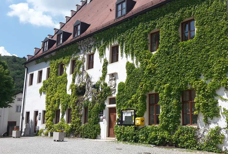 Rathaus Mörnsheim im Altmühltal