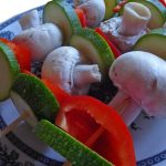 Grillspieße Gemüse vegetarisch