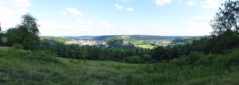 Hohes Kreuz Ausblick Eichstätt Panorama
