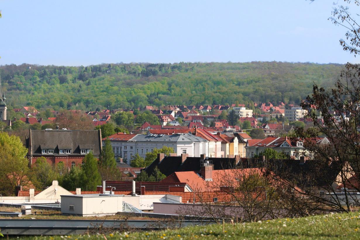 Erfurt Ausblick
