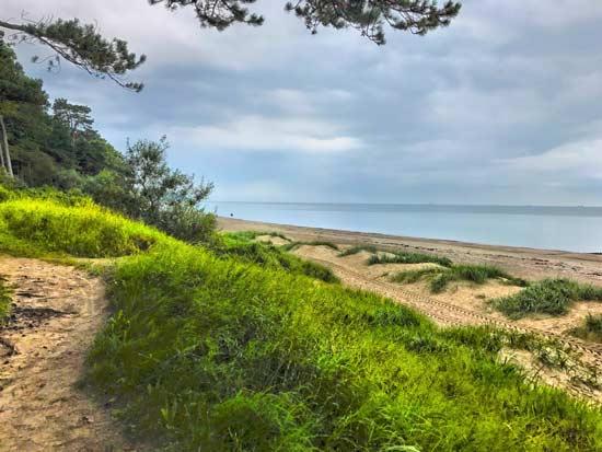 Warnemünde Strand Dünen
