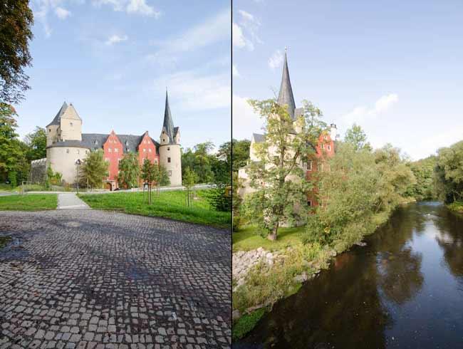 Thierfeld Burg Stein