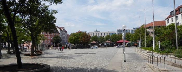 Theaterplatz Ingolstadt