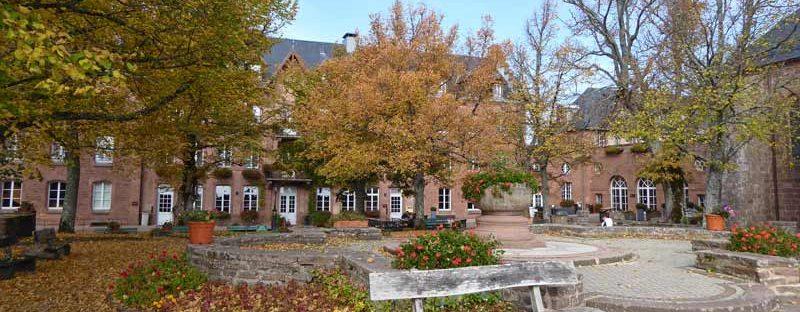 Kloster Mont St Odile Elsass