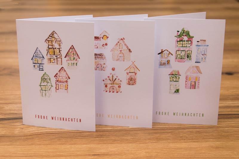 Weihnachtskarten And Buttercups