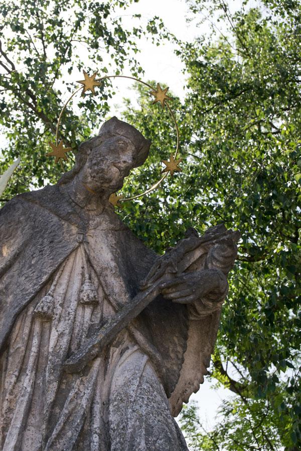 Berching Heiligenstatue