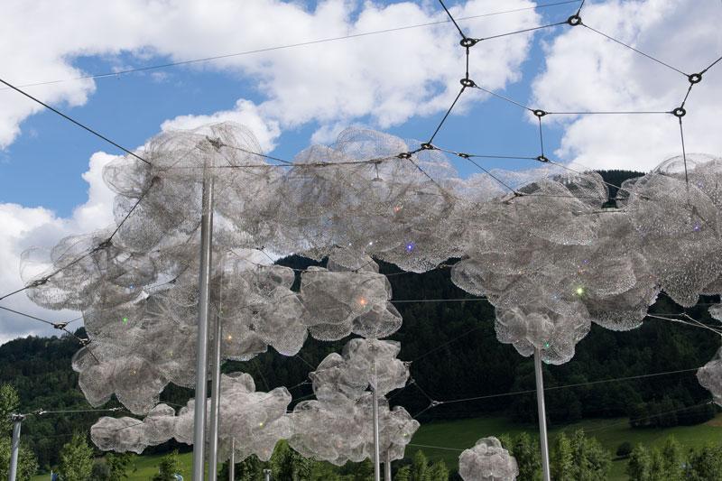 Kristallwelten Swarovski Wolken