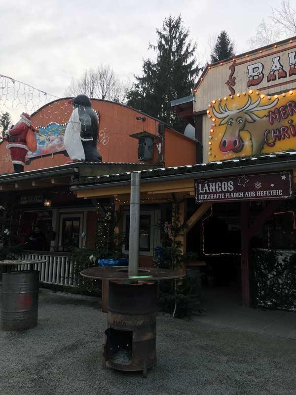 Deutsch-amerikanischer Weihnachtsmarkt Pullman City Eging am See