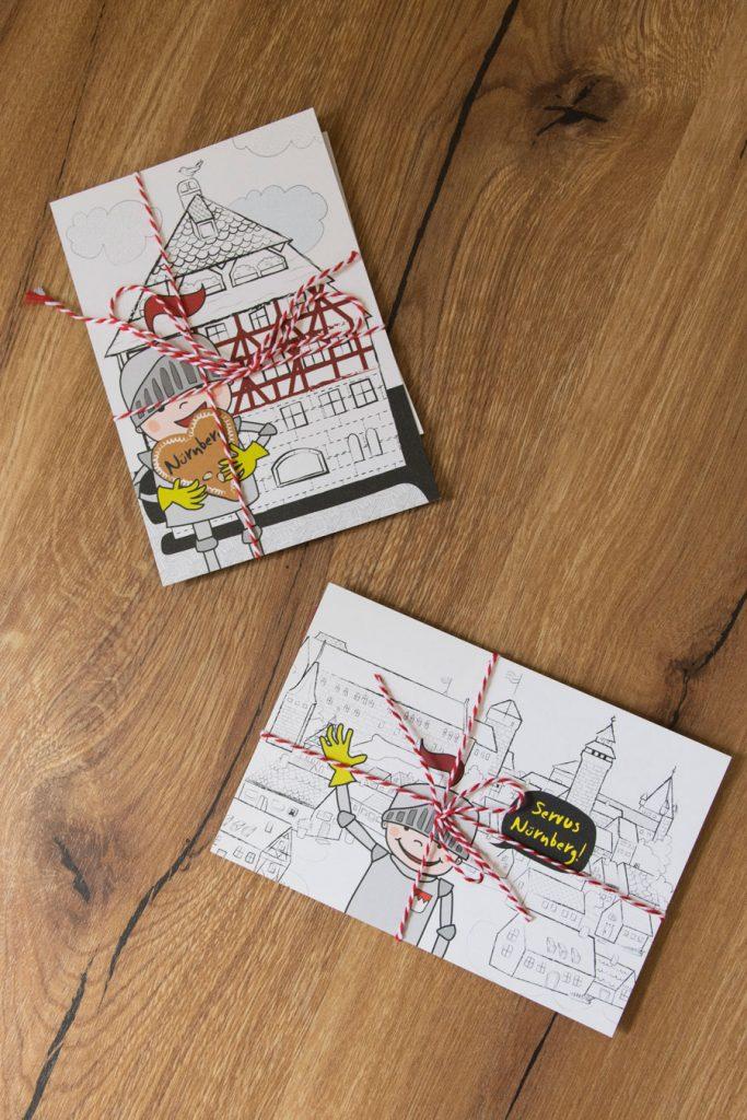 Ritter Lo Gewinnspiel-Paket Postkarten