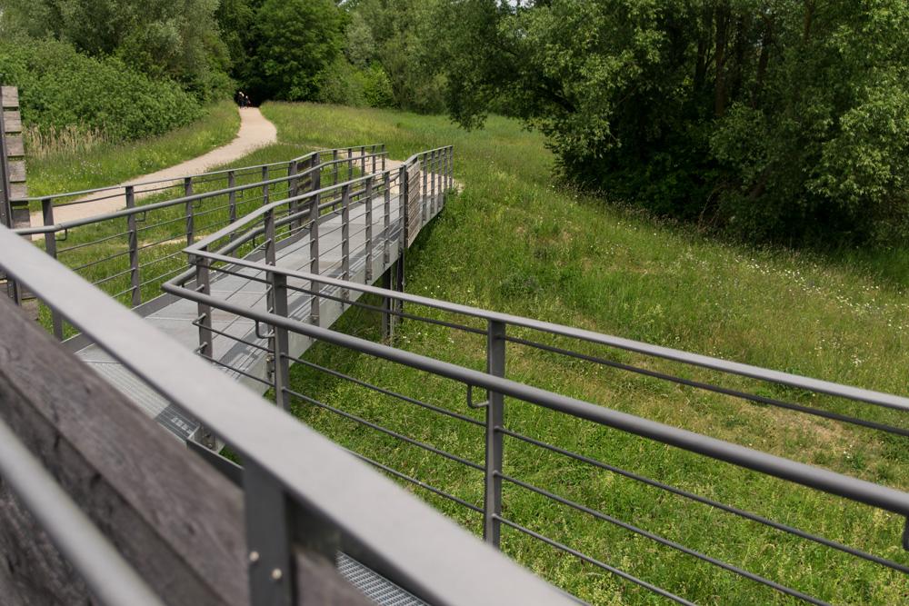 Altmühlsee Aussichtsplattform