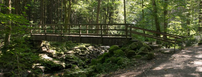 Klamm-Wandern Bayerischer Wald: Saußbachklamm