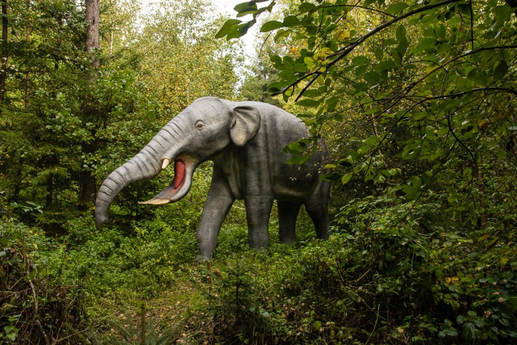 Dinosaurierpark Denkendorf Altmühltal Bayern