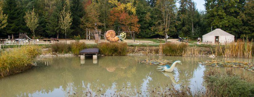 Dinopark Denkendorf Altmühltal Bayern